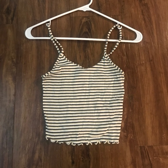 Stripped Crop Top